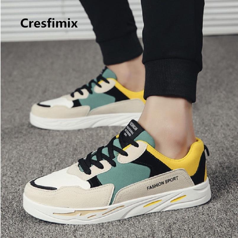 Men Fashion Comfortable Ins Lace Up Platform Shoes Male Cool Autumn Flock Sneakers Man Plus Size Outside Comfy Shoes E2979 zapatillas de moda 2019 hombre