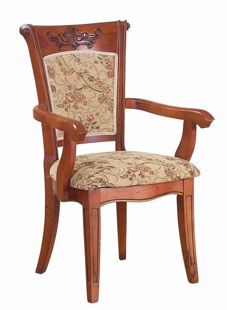 Roble de madera maciza silla del brazo silla para la habitacin de