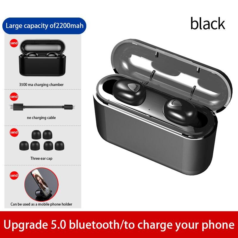 TWS X9 game wireless bluetooth earphones headphones 9D stereo Bluetooth headsets IP7 waterproof earpiece earbuds with microphone in Bluetooth Earphones Headphones from Consumer Electronics