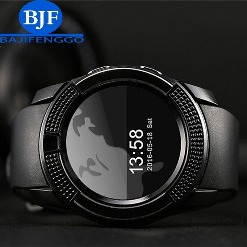 imágenes para Q9 reloj inteligente Bluetooth reloj deportivo reloj MP3 de la ayuda SIM/TF tarjeta de la cámara para Samsung Android teléfono PK GT08 T55