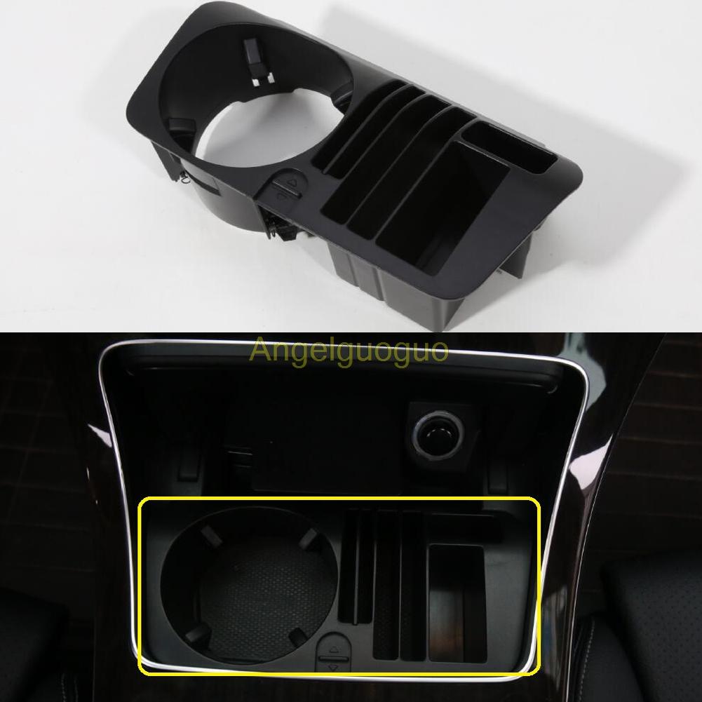 Prix pour Boîte de rangement central porte-gobelet de voiture pour Mercedes Benz classe C W205 GLC W253
