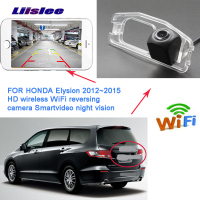 LiisLee WIFI Rear View Camera for Honda Civic 2010 2011 Night Vision Reverse Camera license plate Camera backup camera