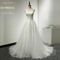 Une Ligne Sweetheart Tulle sur Organza Robe De Mariée avec Dentelle Appliques Chine Robes De Mariée robe de noiva robe de mariée