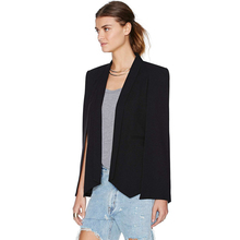 Stylish Split-Sleeve Cape Blazer