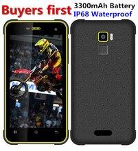 Original Huadoo HG11 Android 7.0 MT6737 Quad core 4G LTE Smartphone IP68 Waterproof 3GB RAM 32GB ROM NFC OTG 8.0MP mobile phone