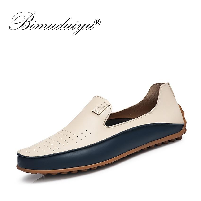 BIMUDUIYU prekės ženklas vasaros priežastinis bateliai vyriškos - Vyriški batai