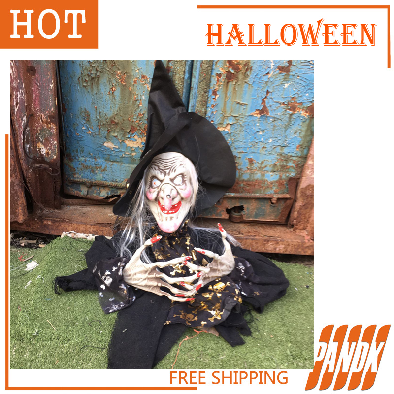 Big Witch Halloween Decorations Holiday Props Witch