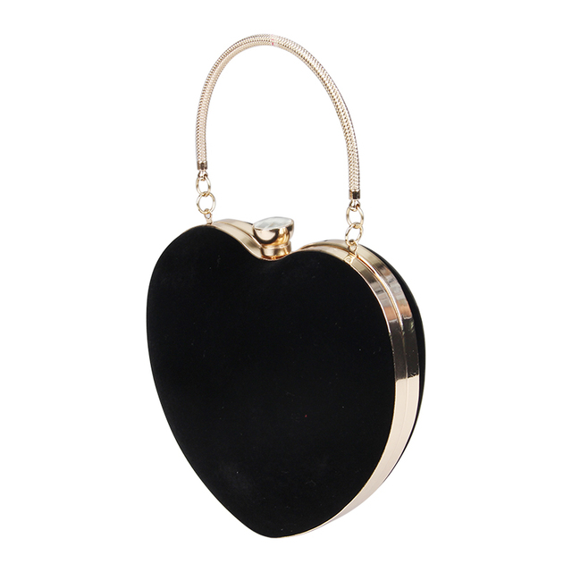 Heart Shaped Clutches Evening Bags 1