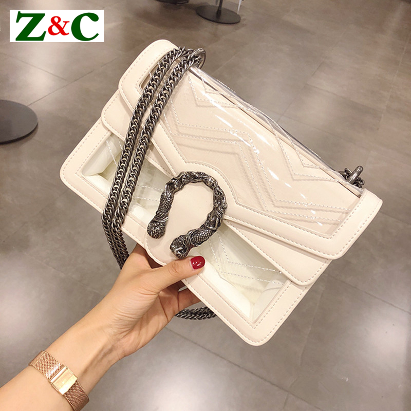 Luxury Brand Women Chain Messenger Bags Leather Shoulder Bag Chain Handbag Clutch Purse Famous Designer Locks Crossbody Bags Sac luxury brand women chain messenger shoulder bag patchwork leather handbag clutch purse famous designer crossbody bags sac a main