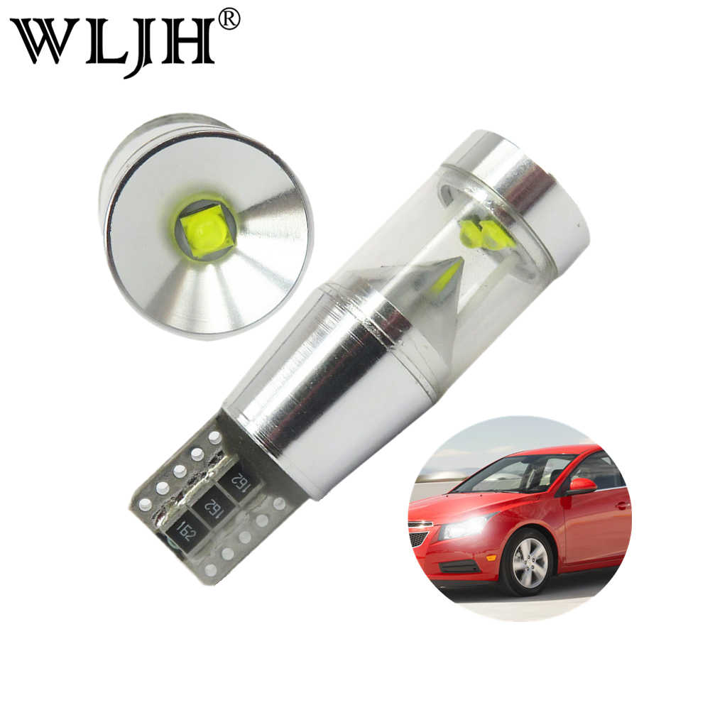 WLJH 2x Canbus LED T10 Car Light License Plate Parking Clearance Lamp For VW Passat B5 B6 T4 T5 Tiguan Touran Golf 4 5 7 6 Polo