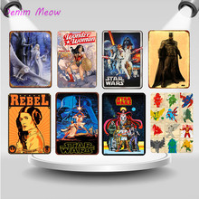 Vintage Super Hero Comic Cartoon Metal tin signs Movie Anime Characters Wall Painting Plates Cinema Film Poster Home Decor WY41
