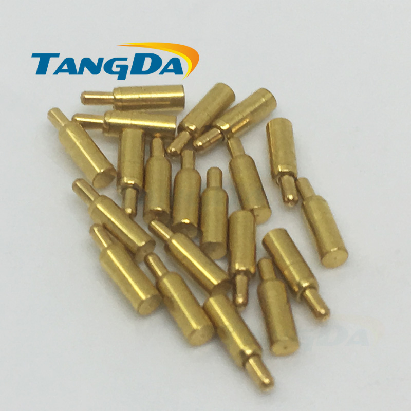 1.3*5mm pogo pin connector Thimble connector 1.3 * 5 POGO 1.3MM 5.0MM PIN probe needle AW цены