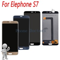 5.5'' Touch Screen Digitizer Glass + LCD Display Assembly For Elephone S7 ; New ; Black / Blue / Gold ; 100% Tested ; Tracking