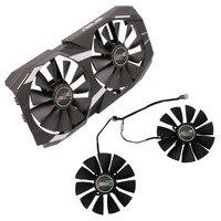 For ASUS DUAL RX580 Graphics Fan RX470 / 570 GTX1080Ti / 1070Ti Alternative Fan