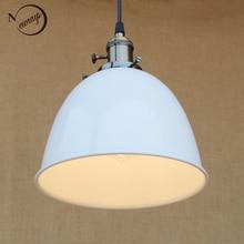 4 color moderno loft industrial lámpara colgante colgante de la vendimia e27 lámparas led se enciende con el interruptor para la cocina bar café