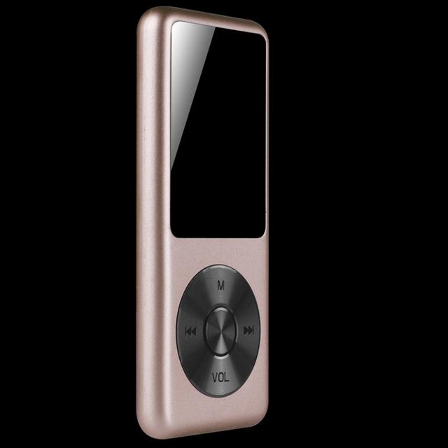 Mp3 player 8 gb leitor de música de alta fidelidade original benjie c1 alta qualidade lossless audio video player com fm voz de rádio gravador