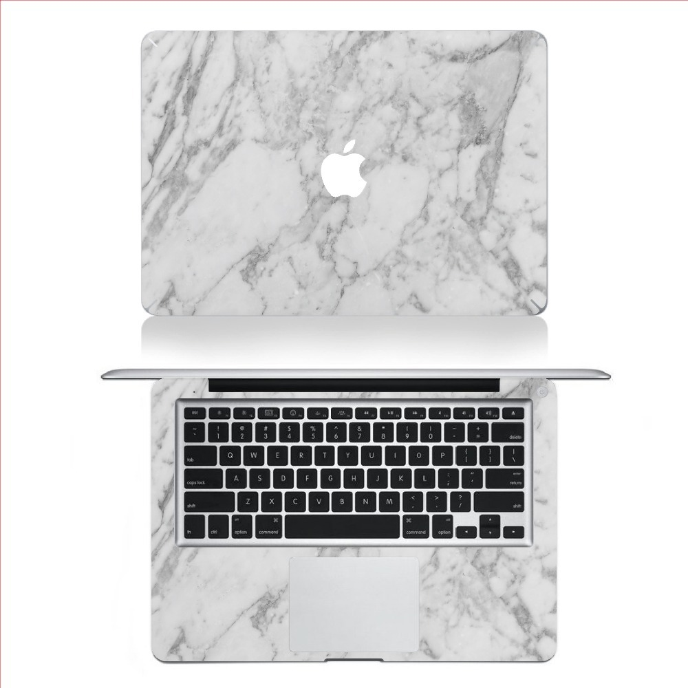 Marble Grain Full Body Laptop Decal Sticker Case For Apple Macbook