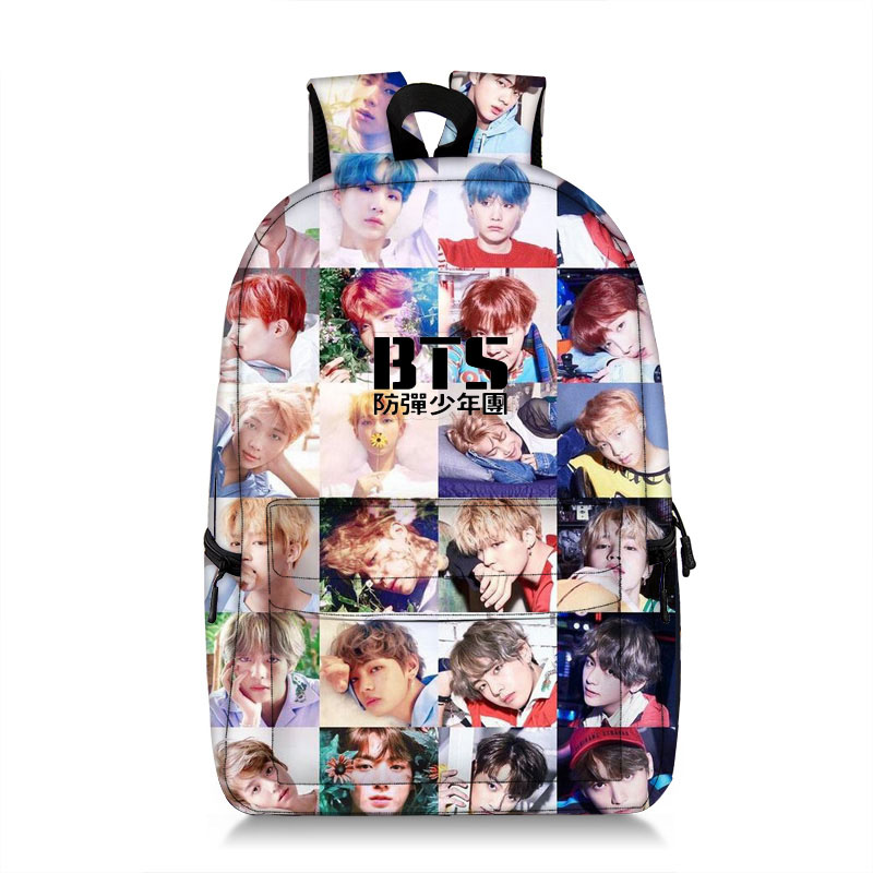 Mochilas Bts Bangtan Boys Backpack Cute For Girls Rucksack Men Korean Fashion Girls Book Bag Large Bagpack Youth Backpacks Woman