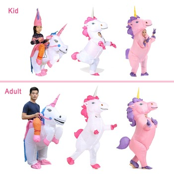 Inflatable Unicorn Costume 5