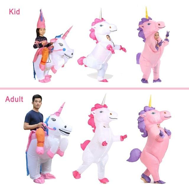 Inflatable Unicorn Costume 5