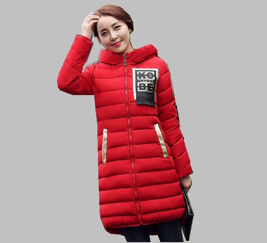 New Winter Fashion Women Down jacket  Hooded Thick Super warm Medium long Irregular Coat Casual Slim Big yards Clothing NZ74 europe winter big yards women coat warm duck down down jacket elegant pure color casual thick hooded slim women short coat g0451