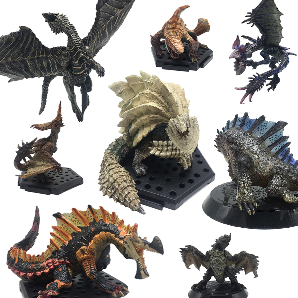 Monster Hunter World Game 2018 New PVC Models Dragon Action Figure Decoration Toy Christmas Gift Model Collection