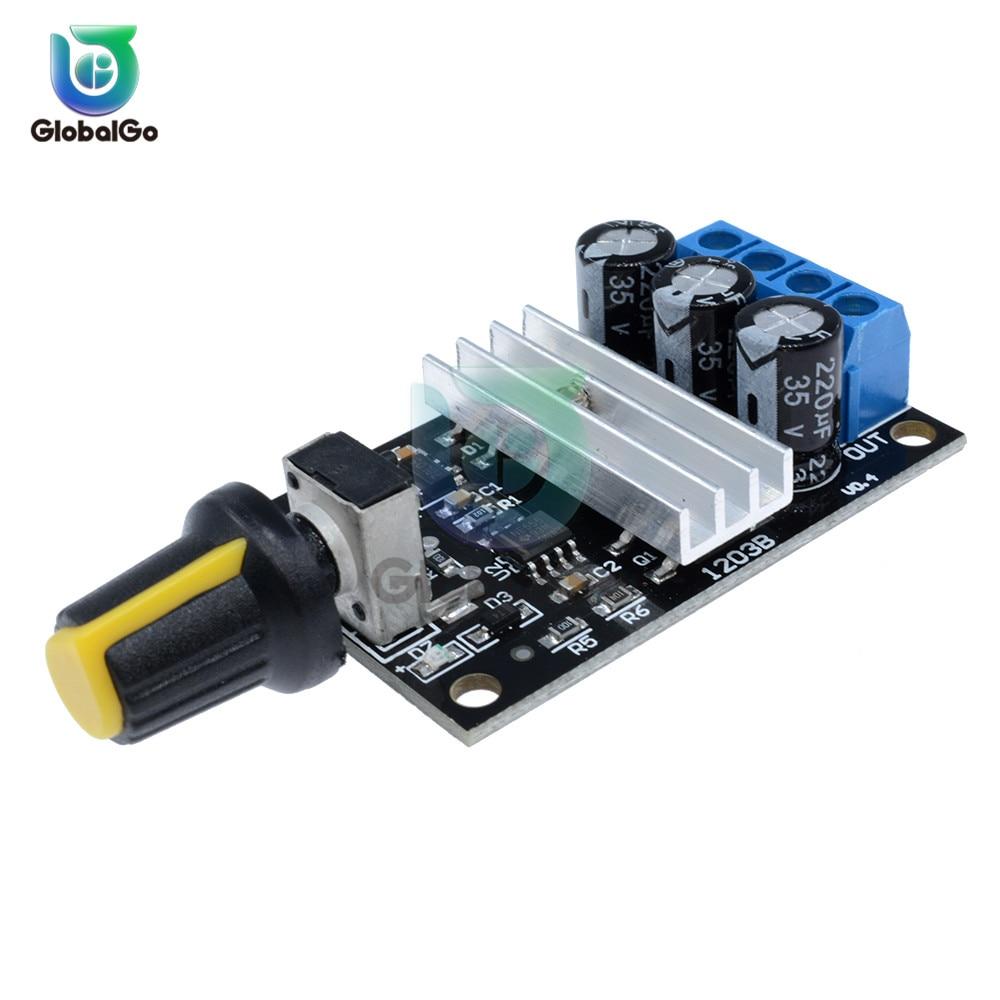 1x Variable DC 6V 12V 24V 28V PWM Potentiometer Switch DC Motor Speed Controller