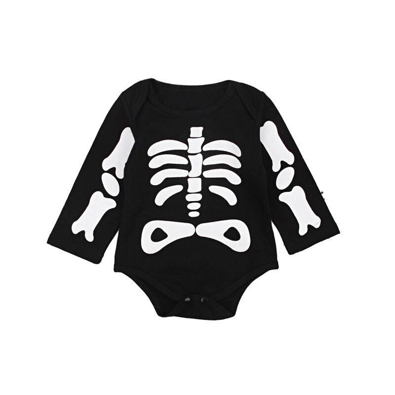 9c2da3d69 Aliexpress.com   Buy 2018 Halloween Bone Long Sleeves Black Outfits ...
