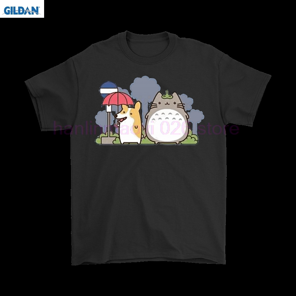 Adroit My Fluffy Neighbor Totoro Corgi Shirts Delicacies Loved By All