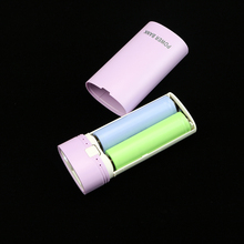 Small and exquisite DIY Cellular Energy Financial institution Case 5600mAh 18650 Battery Charger For cellphones pad pill