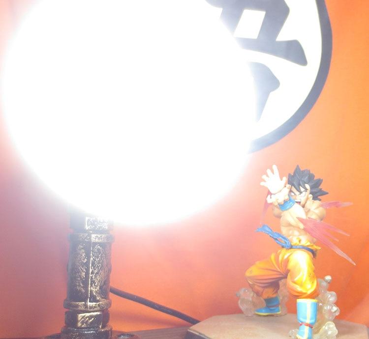 KNL HOBBY Dragon Ball LED desk lamp explosion models hand Monkey King Eye Blaster led creative birthday gift free shipping spot