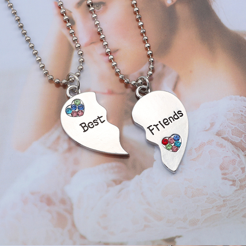 HTB1SdHMXjzuK1RjSspeq6ziHVXaG - Best Friend Necklace Women Crystal Heart Tai Chi Crown Best Friends Forever Necklaces Pendants Friendship BFF Jewelry Collier