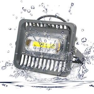 Image 1 - גבוהה בהיר LED הארה 100W 70W 50W 30W הארה IP66 איטום AC220V LED רפלקטור LED חיצוני תאורת גן מנורה