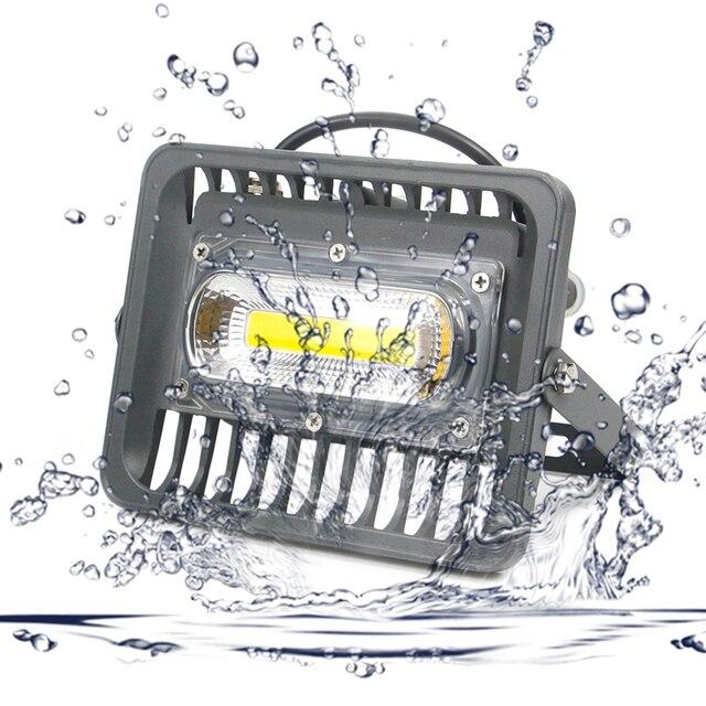 Projecteur LED imperméable conforme à la norme IP66, éclairage dextérieur à large faisceau, idéal pour le jardin, LED lumineuse/70/50/30W, ac 220v