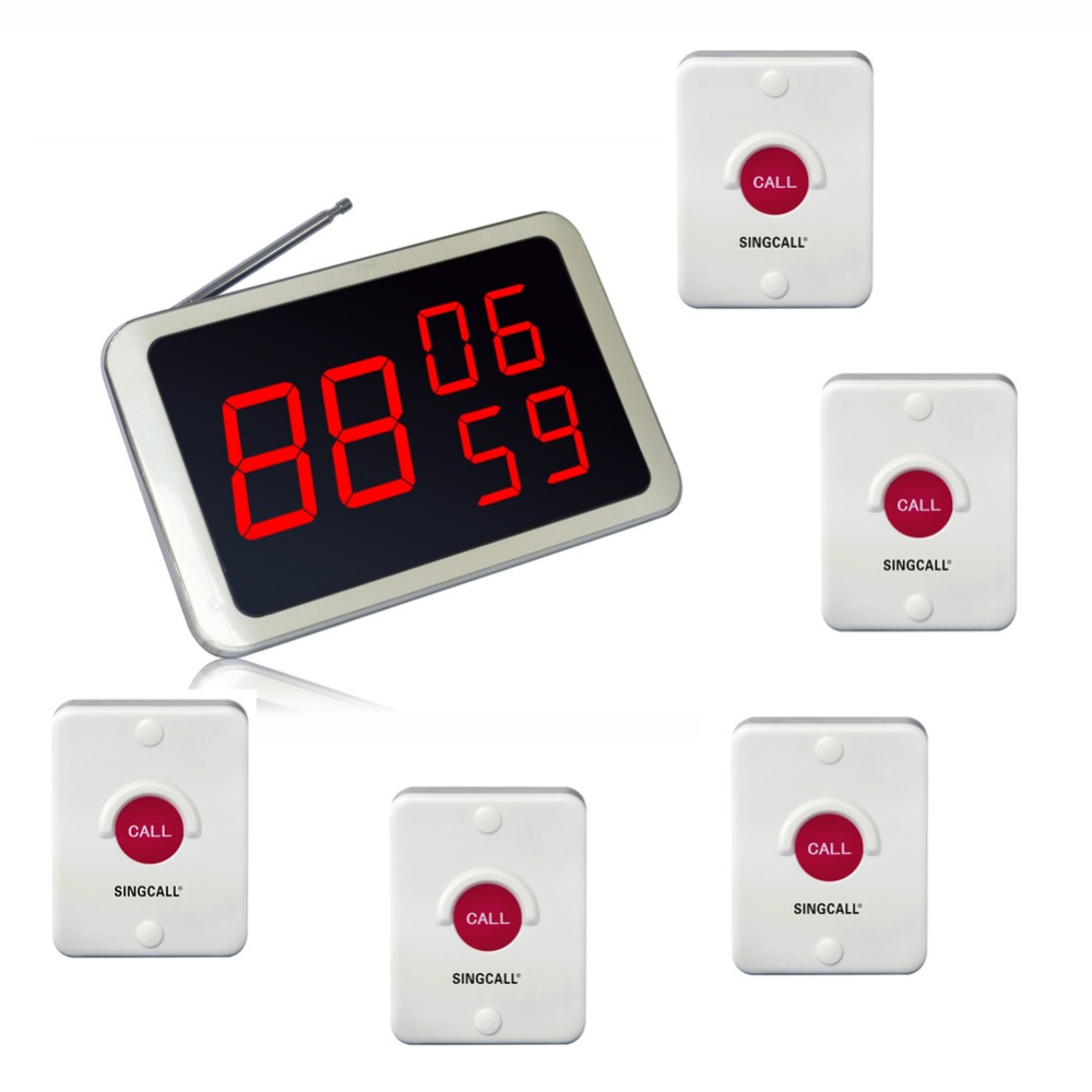SINGCALL. Wireless Service Calling, ein Hotel-System, kann an der - Büroelektronik
