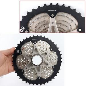Image 3 - Bộ Chuyển Động Shimano Deore M6000 CS M4100 HG500 HG50 10 Tốc Độ Xe Đạp Freewheel MTB Kiêm Con Quay 11 36T 11 42T
