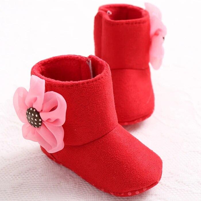 Carters Solid Floral Princess Baby Jordan Bebe Shoes Girls First Walkers Newborn Bota Toddler Sneakers Moccasins Infantil Boots