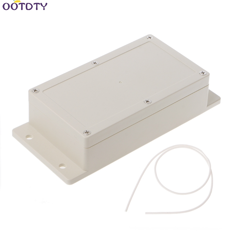Waterproof Electronic Project Case Connection Box Power Junction White Plastic Enclosure Box 158x90x46mm waterproof abs plastic electronic box white case 6 size