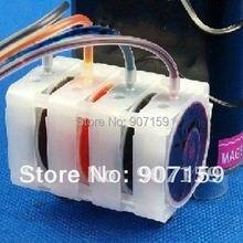 4 цвета СНПЧ заслонка; СНПЧ одноходовой клапан управления чернилами клапан для HP& Canon серии DIY СНПЧ; 4 вида цветов/лот