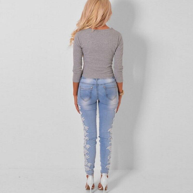 Aliexpress.com : Buy Plus Size Hot Jeans Womens High Waist Denim ...