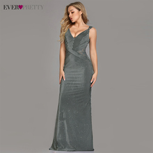 Party-Gowns Evening-Dresses Ever Pretty Sparkle Sleeveless De Trumpet Floor-Length No