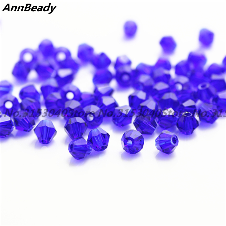 100pcs New Rose Color 4mm Bicone Crystal Beads Glass Beads Loose Spacer Beads Diy Jewelry Making Austria Crystal Beads Cheap Sales Beads Jewelry & Accessories