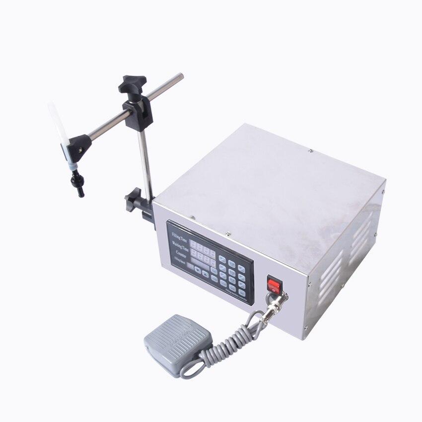 1 PC KC 280 Electric CNC Semi Automatic precision liquid filling machine filling machine corrosion NC