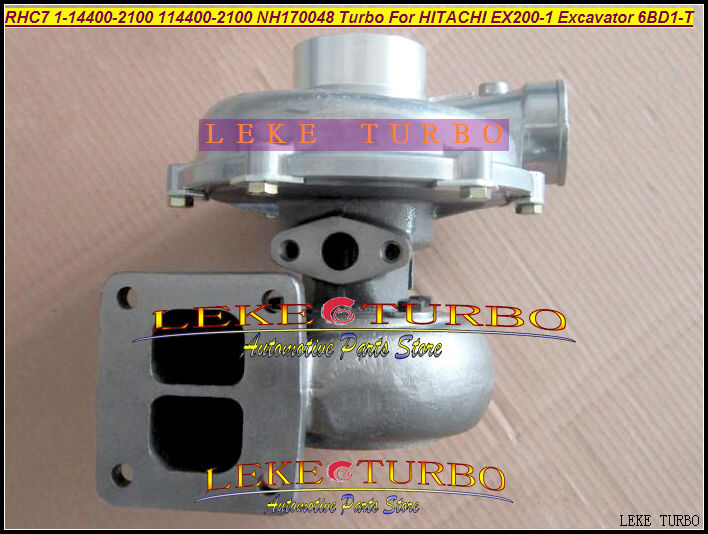 RHC7 1-14400-2100 114400-2100 NH170048 1144002100 Turbo Turbine Turbocharger For HITACHI EX200-1 Excavator 6BD1T 6BD1-T  6BD1
