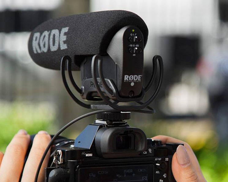Rode Videomic Pro R Rode Videomic Pro Compact Shotgun Microphone New