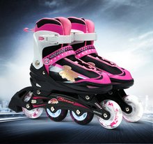 Pro Quality Roller Skates Shoes Cotton Fabric Full set Adult Breathable Roller Skate Skating Shoes with Shinning Wheels все цены