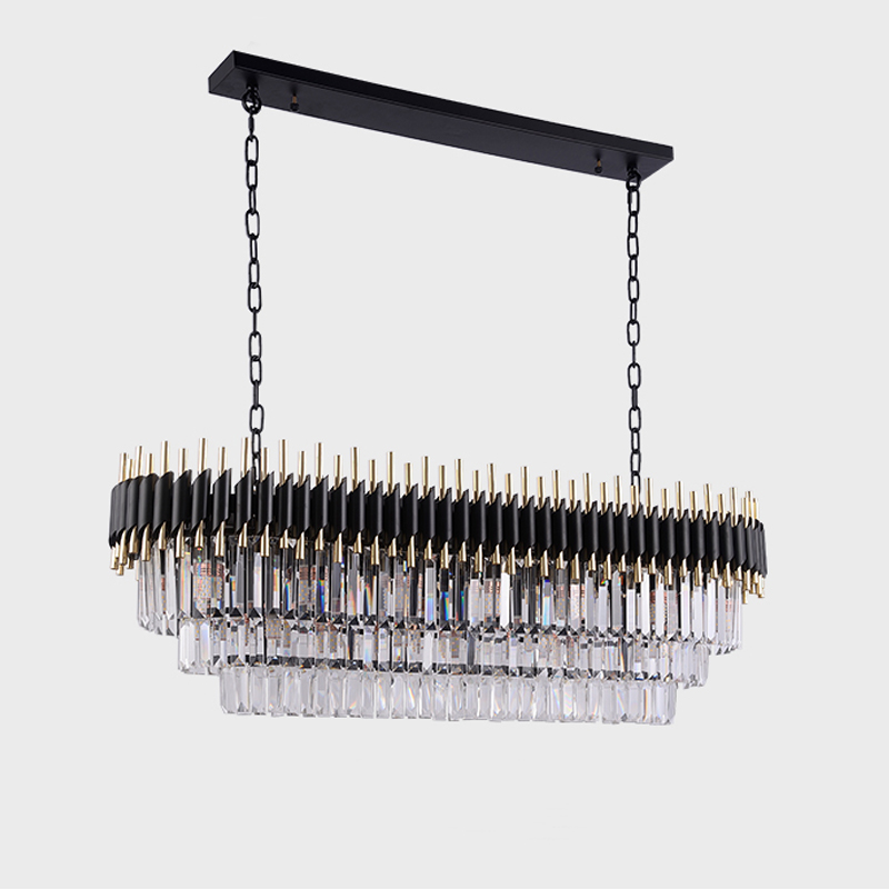 Modern Crystal Chandelier For Dining Room Luxury Kitchen 1