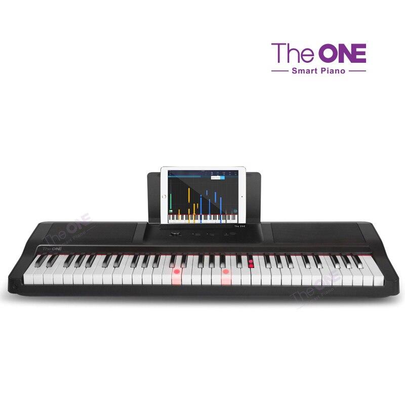 La lumière unique 61 touches tactile réponse piano intelligent USB orgue électronique clavier MIDI