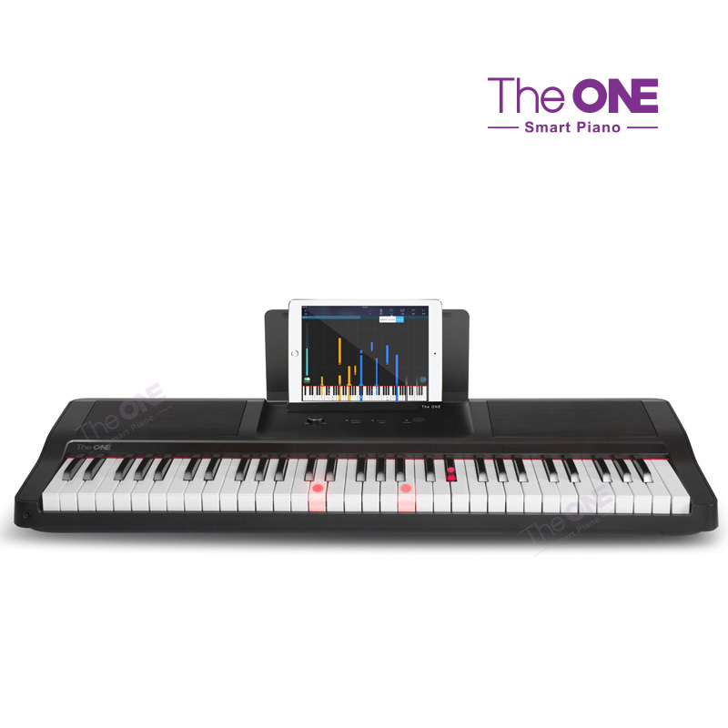 The ONE Light 61 Keys Touch Response Smart Piano USB Electronic Organ MIDI Keyboard