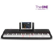 музыкальные игрушки potex синтезатор smart piano 32 клавиши 939в The ONE Light 61 keys touch response smart piano USB electronic organ MIDI keyboard